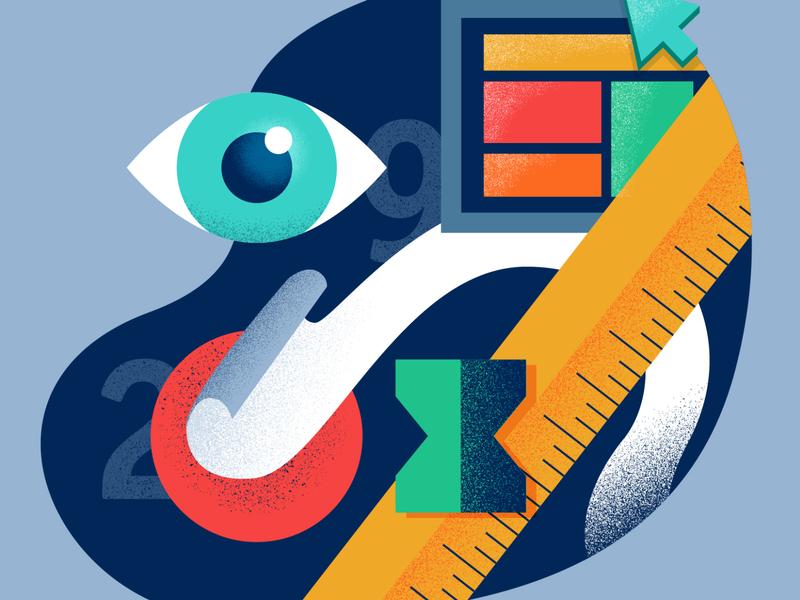 Rule29 Collage branding design illustration vector