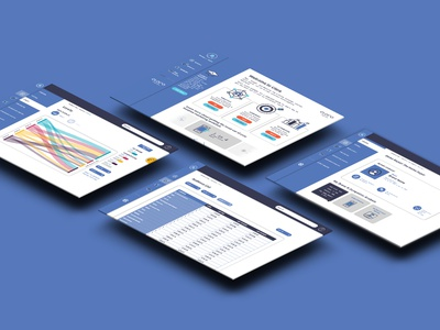 Dashboard UI ui design web intelligence data ui dashboard