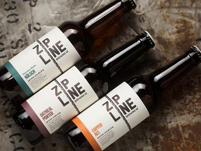 Zipline Packaging package design zipline beer label label craft beer