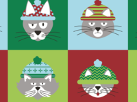 Gift Wrap Ideas = Grumpy Cats Christmas