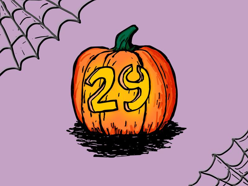 Happy Halloween! vector illustration 29 spooky cobweb jack-o-lantern pumpkin halloween