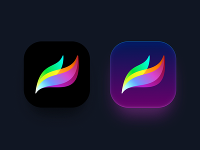 Procreate Icon Exploration getcreativewithprocreate ios colorful minimal illustration icon design icon procreate