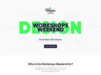 Workshops weekend preview
