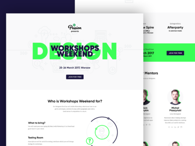 Workshops Weekend: Design