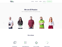 El passion about us redesign