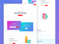 G-Host Landing page