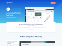 Product page   machine learning models
