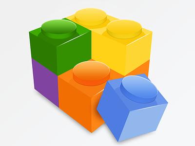 Mail Plugin Manager block icon app lego colour cube box osx plugin build