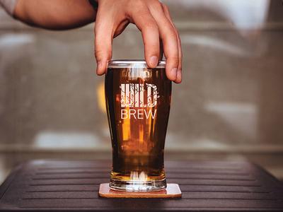 Wild Brew Branding branding logo minimal