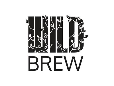 Wild Brew Logo Mark beer logomark branding minimal