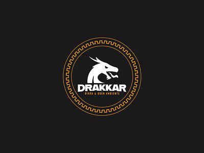 Drakkar 3 logodrakkar drakkar logo logo dragon logodesign design logotype logo branding dragon drakkar