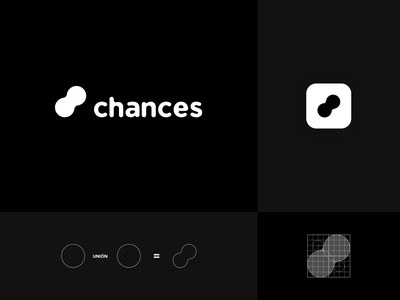 Chances appchance chance the rapper chance chances app appicon iconapp designlogo design logo design logotype branding chances logo