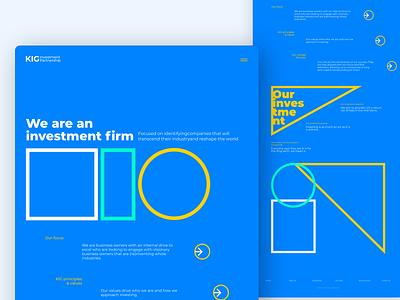 Option 2 concept design web desgin web designer web design ui design uidesign ui finance partner investments investing investment investor invest