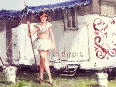 CircusGirlSketch
