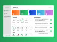 Smart Home Dashboard (Daily UI 021)