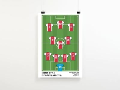 Football Team Print