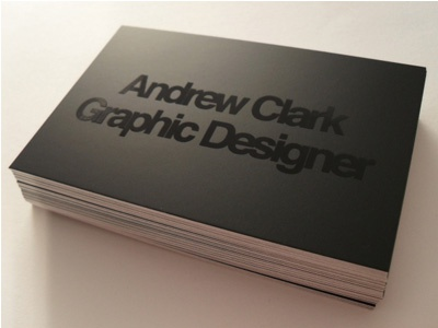 Business Card Design business card spot varnish design black id logo gloss graphic paper photography photograph type typography promotional