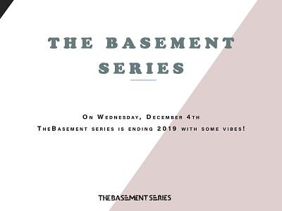 The Basement Series pitch deck graphicdesign vector branding illustration design