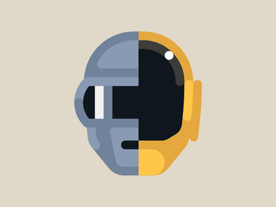 Daft Punk vector geometric illustration geometric design geometric art design music geometric mimimalism minimalist minimalistic minimal illustration daftpunk