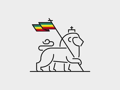 Lion of Judah vector simple lion logo minimalist minimalistic minimal logodesign logotype design illustration design illustration lionofjudah lion
