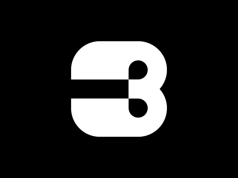 3 — 36 Days Of Type illustration brand 36daysoftype-3 36days-3 36daysoftype letter isotype minimalism icon mark simple minimalistic minimal design logotype logo monogram type number 3
