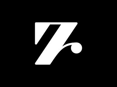 7 — 36 Days Of Type type icon minimalist simple illustration mark brand vector design minimalistic minimal 36daysoftype-7 36days-7 36daysoftype monogram logotype logo letter number 7