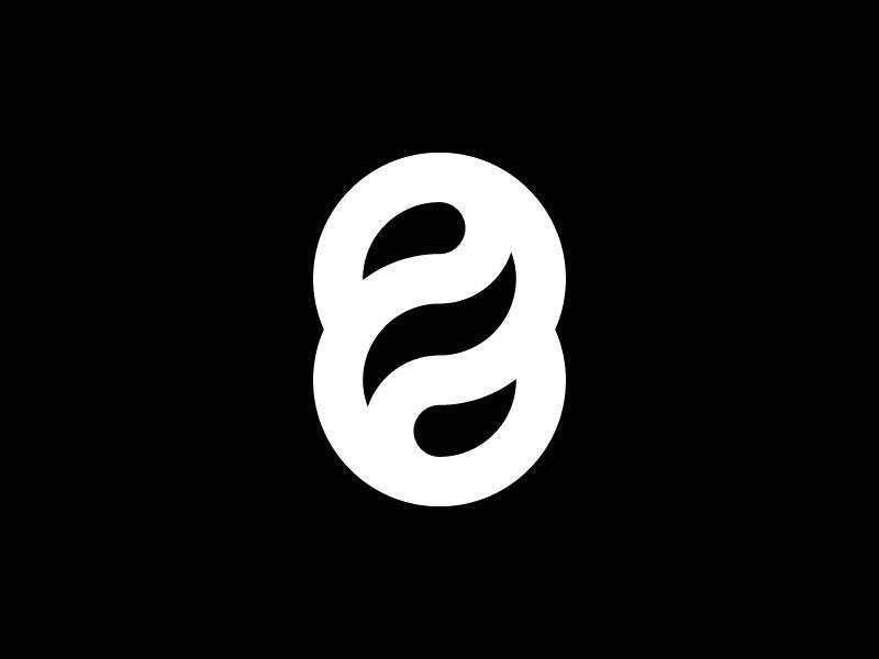 8 — 36 Days Of Type minimalist type simple minimal minimalistic vector minimalism illustration mark icon design 36daysoftype-8 36days-8 36daysoftype monogram logotype logo letter number 8