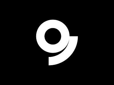 9 — 36 Days Of Type simple minimalism minimalist type isotype illustration mark icon minimal minimalistic 36daysoftype-9 36days-9 36daysoftype monogram design logotype logo letter number 9