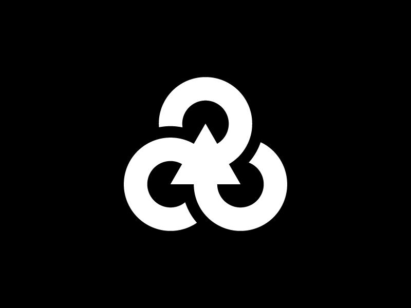 Recycle Symbol icon isotype mark illustration simple minimalism minimalist minimalistic minimal redesign design logotype logo symbol recycle