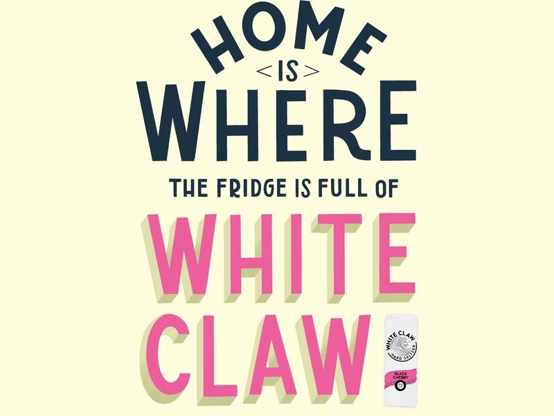 Home is Where... typography illustration art director design hand lettering illustration