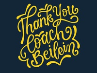 Thank You Coach Beilein