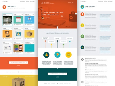 Assembly Pages assembly ui webpage webdesign