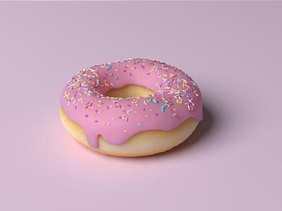 3d Donut donut blender 3d