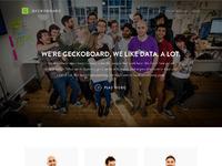 Geckoboard team