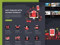 Humble Bundle Publishing page