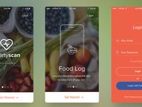 App slides and Branding