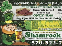 Shamrock Advertisement