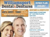 Williamsport Dentures Ad