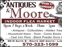 Antiques And Morore Ad