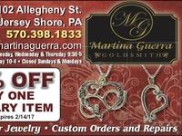 Martina Guerra Jewelry Ad