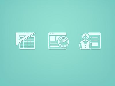 Icon Illustration ui web security scan illustration icon