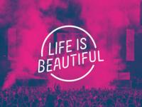Life is Beautiful Festival Logo