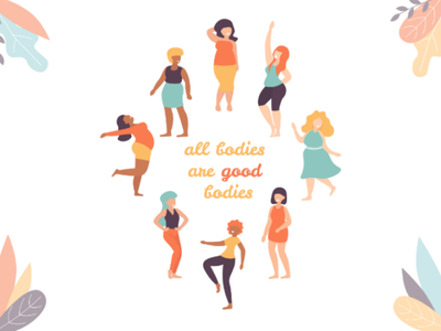 All bodies are good bodies size plus female positive body