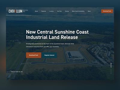 Chevallum Industrial Park australia gold coast sunshine coast wordpress adobe xd digital marketing web design web design website