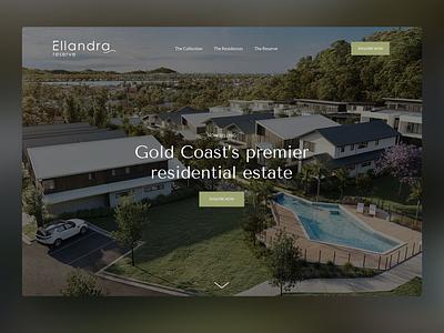 Ellandra ui wordpress website web design web gold coast digital marketing design australia adobe xd