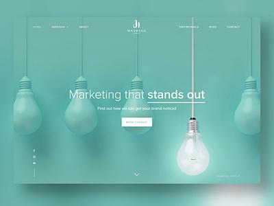 Hashtag Group ui wordpress website web design web gold coast digital marketing design australia adobe xd