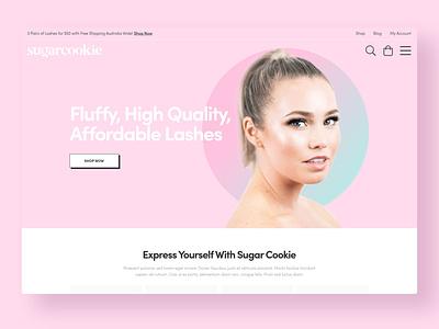 Sugar Cookie ui wordpress website web design web gold coast digital marketing design australia adobe xd