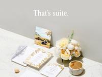 Wedding suites art direction