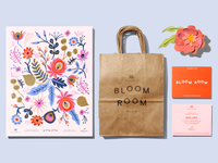 Bloom Room print collateral