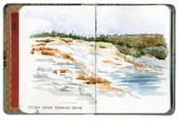 Upper Terraces, Yellowstone National Park